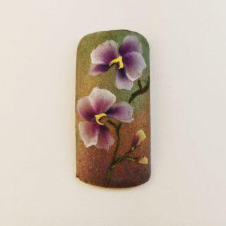 18 орхидея дизайн на типсе